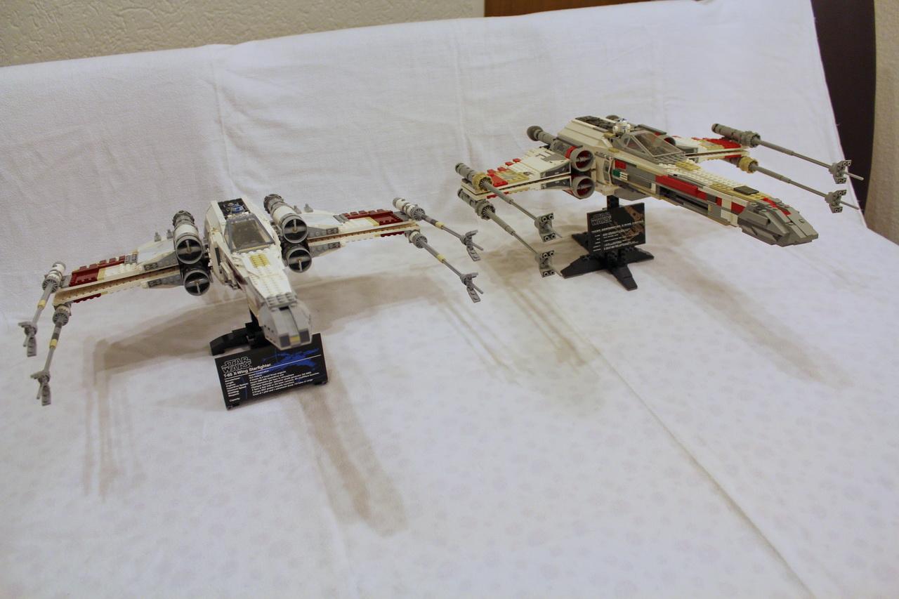X-Wing 7191 vs. X-Wing 10240-01