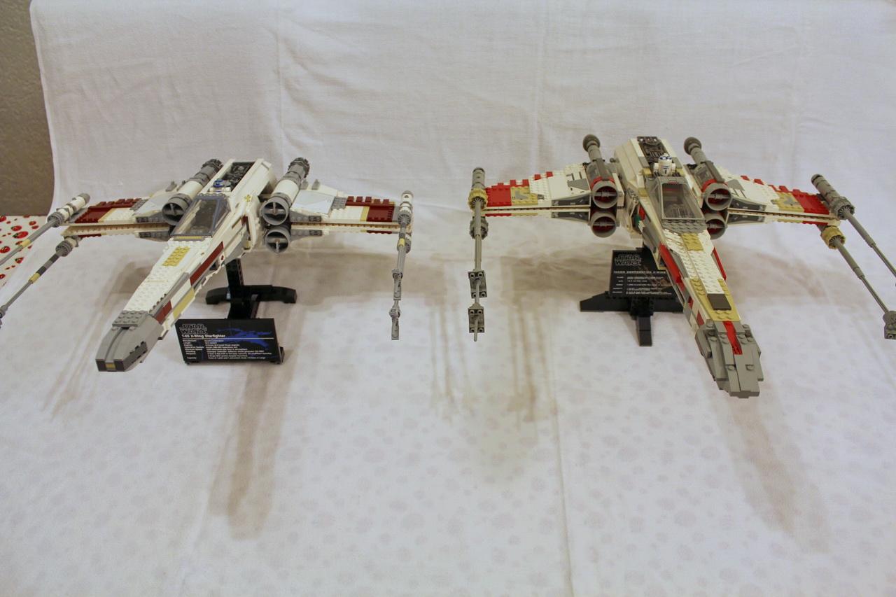 X-Wing 7191 vs. X-Wing 10240-02