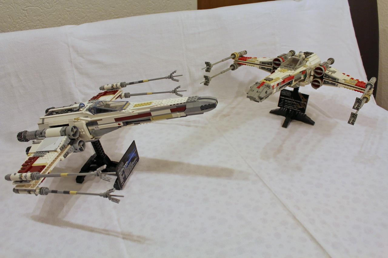 X-Wing 7191 vs. X-Wing 10240-04