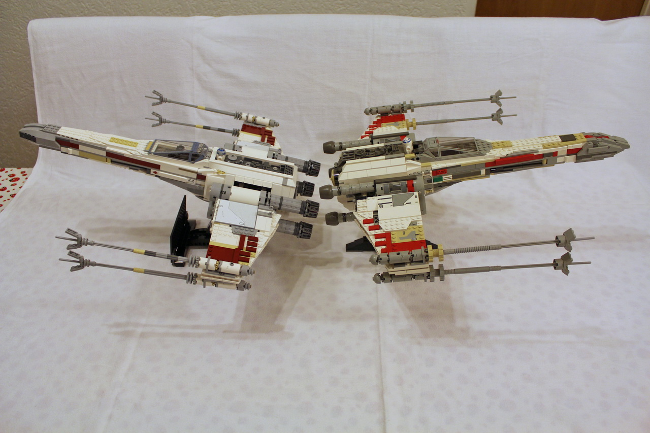 X-Wing 7191 vs. X-Wing 10240-05
