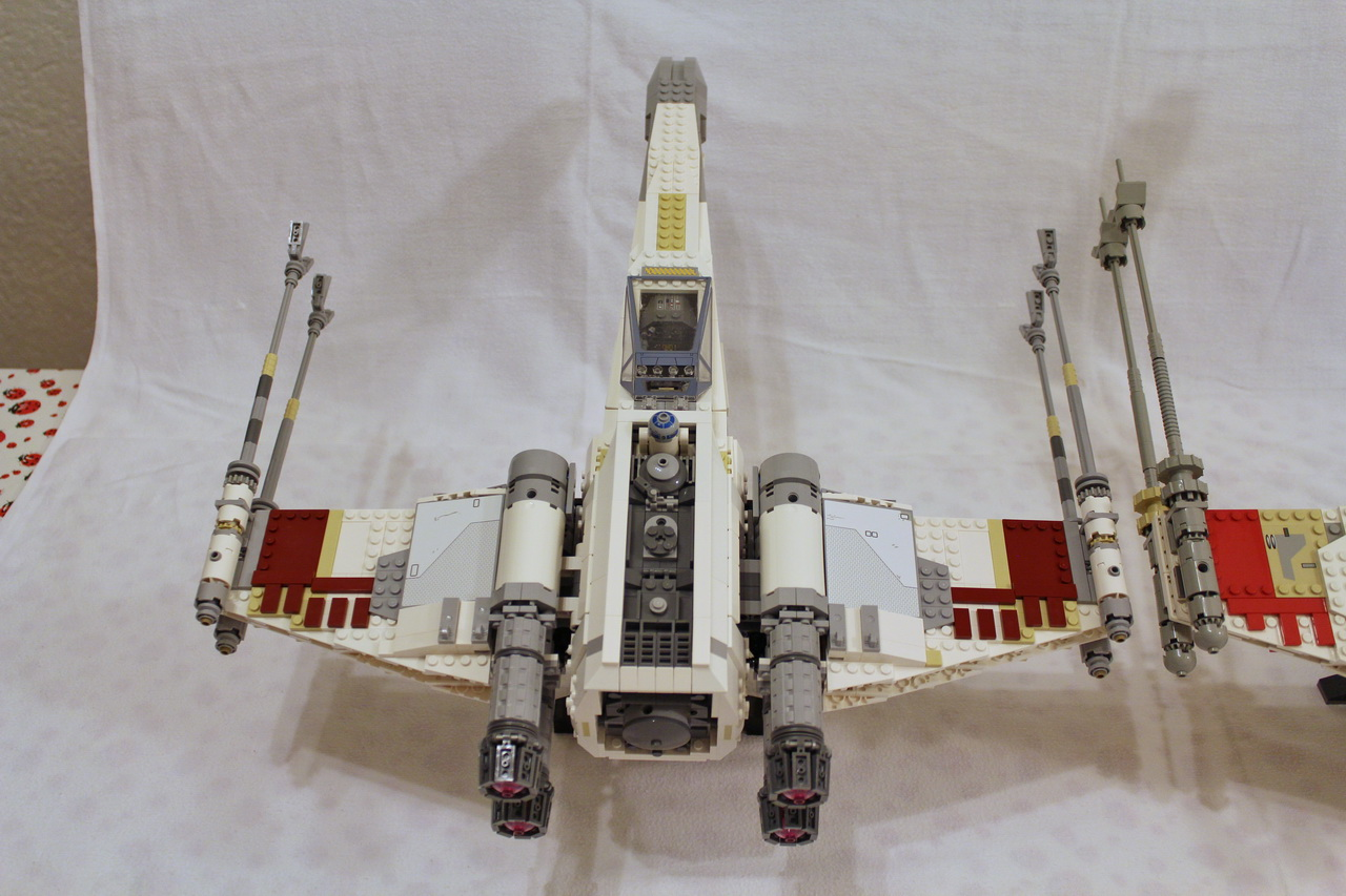 X-Wing 7191 vs. X-Wing 10240-07