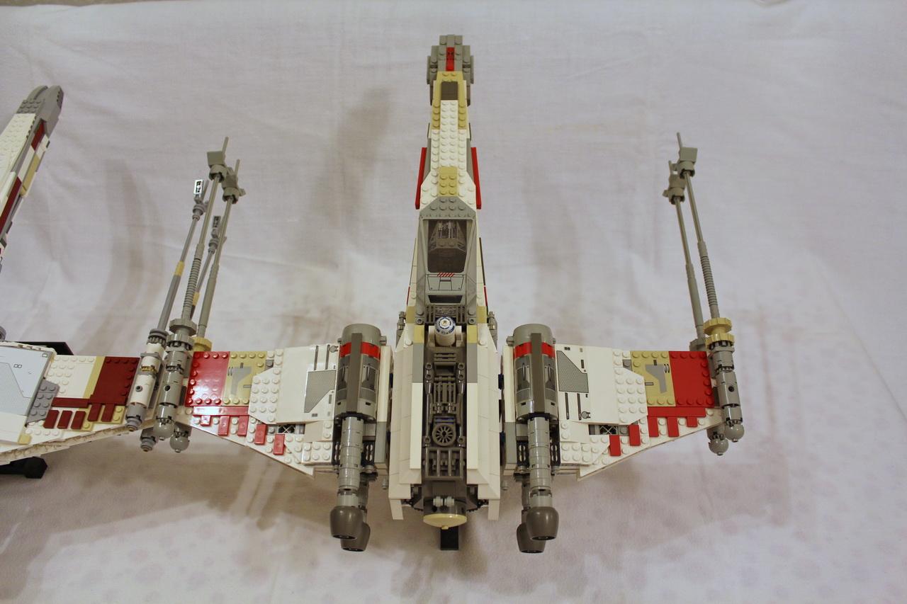 X-Wing 7191 vs. X-Wing 10240-08