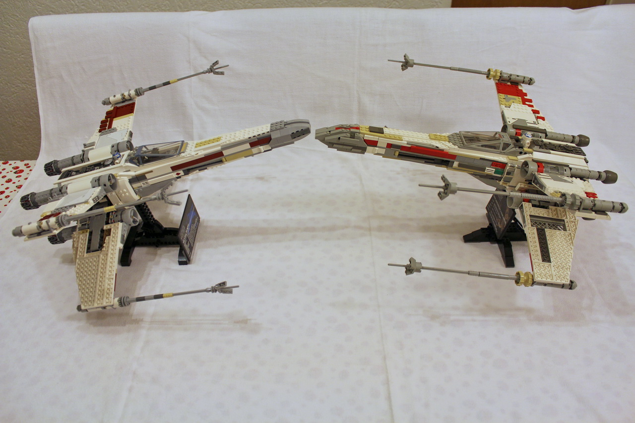 X-Wing 7191 vs. X-Wing 10240-09