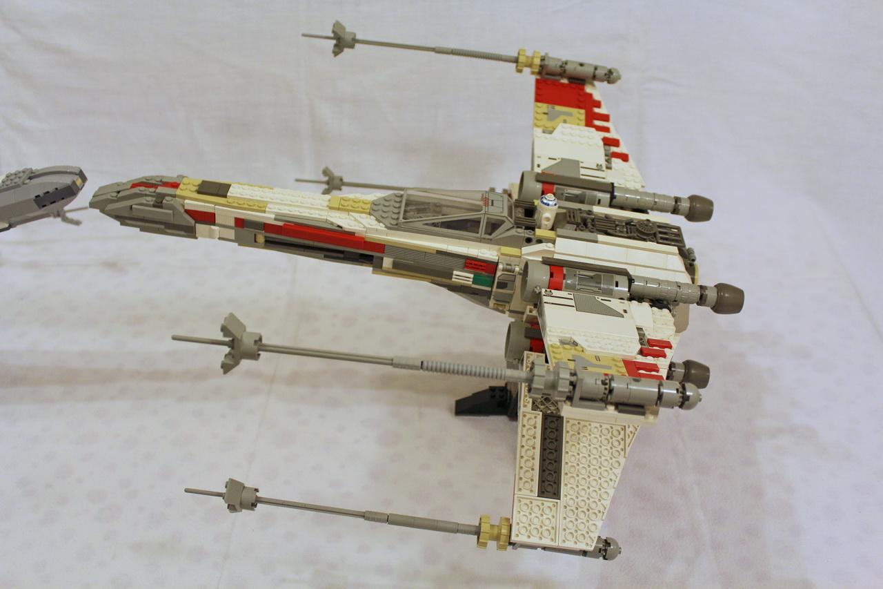X-Wing 7191 vs. X-Wing 10240-11