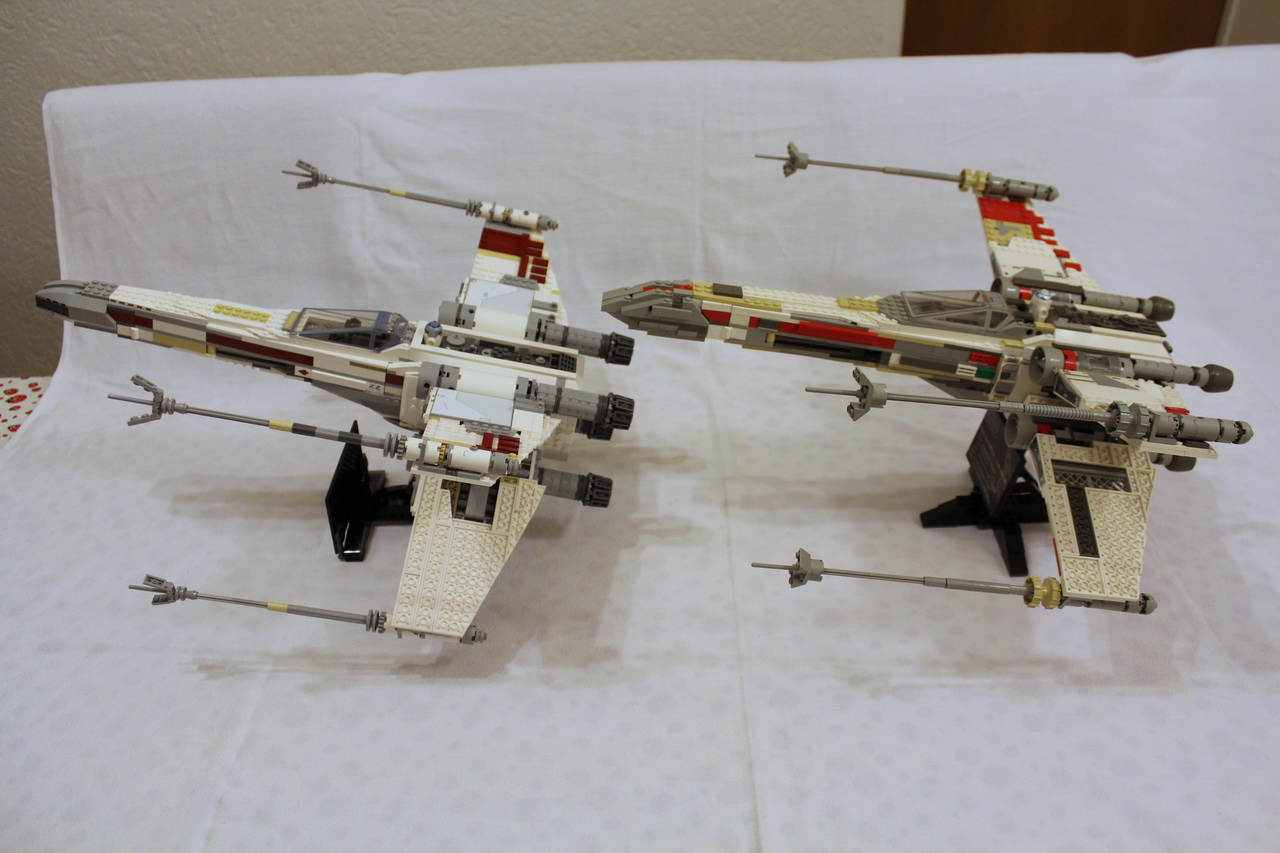 X-Wing 7191 vs. X-Wing 10240-12
