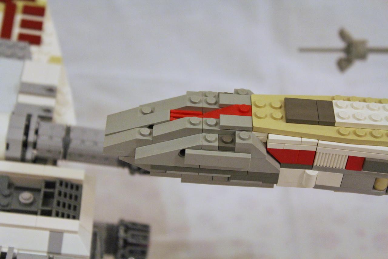 X-Wing 7191 vs. X-Wing 10240-13