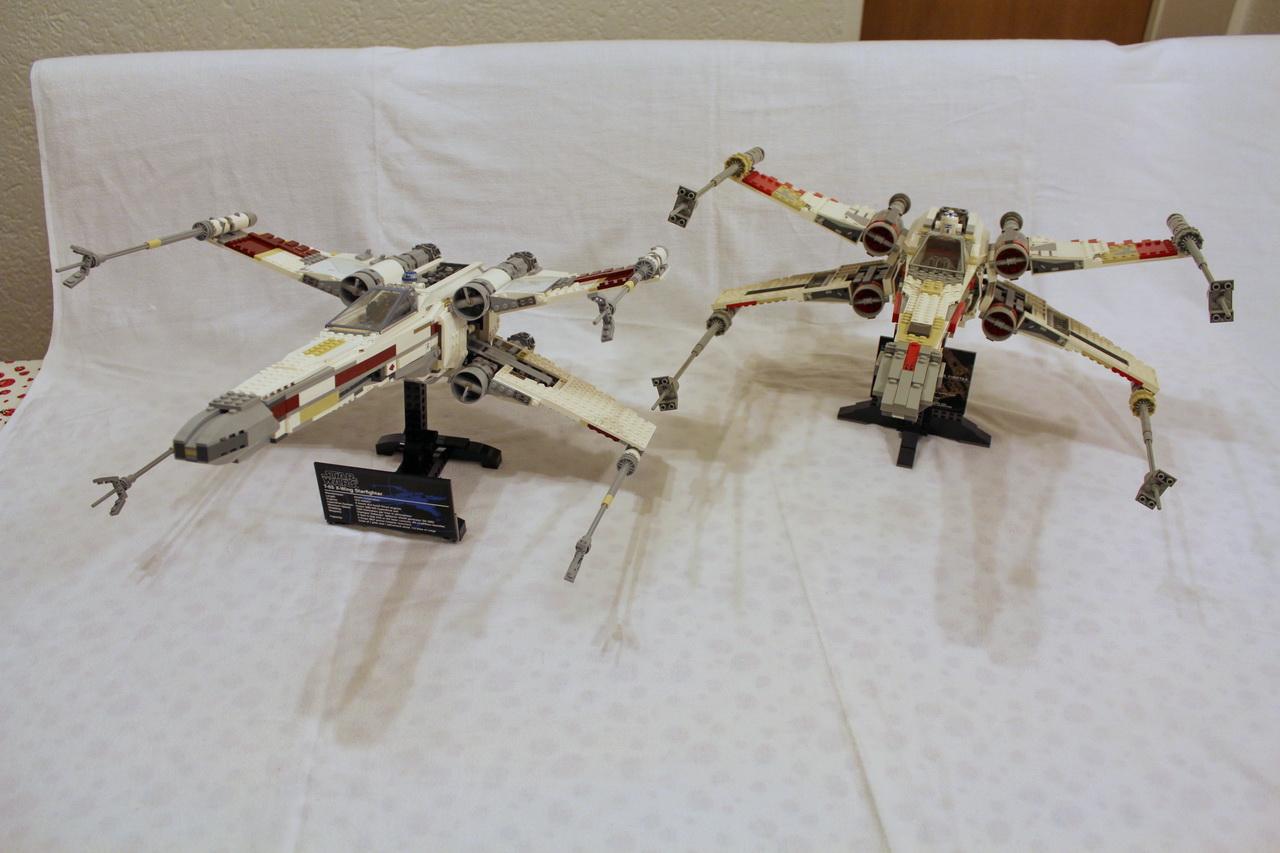 X-Wing 7191 vs. X-Wing 10240-21