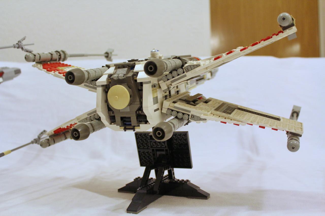 X-Wing 7191 vs. X-Wing 10240-34